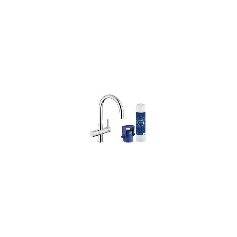 grohe blue pure mitigeur vier c bec banio salle de bain badkamers. Black Bedroom Furniture Sets. Home Design Ideas