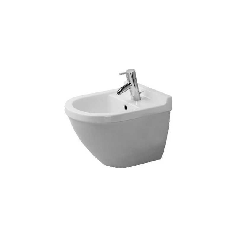 duravit starck 3 bidet suspendu starck 3 compact blanc. Black Bedroom Furniture Sets. Home Design Ideas