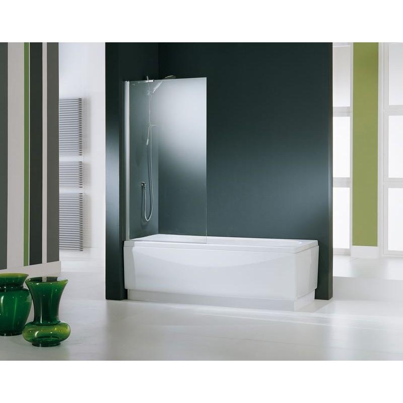 Novellini aurora 5 paroi de baignoire 80x150 cm verre for Miroir 80x150