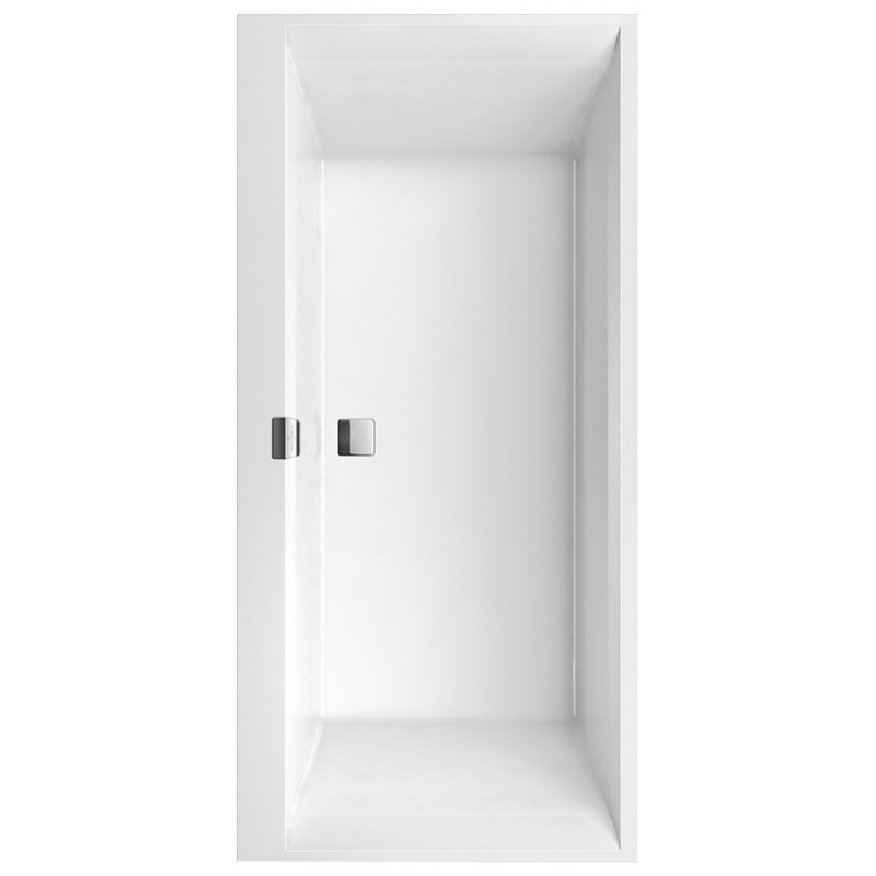 villeroy boch squaro edge 12 baignoire en quaryl banio salle de bain badkamers. Black Bedroom Furniture Sets. Home Design Ideas