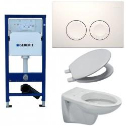 Banio salle de bain est le magasin de salle de bain for Reglage wc suspendu geberit