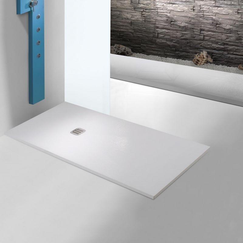 Receveurs de douche en r sine de pierre de r f rence keops 90 de sanchis chez banio salle de bain - Receveurs de douche extra plat ...