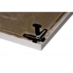 pieds pour receveurs de douche banio salle de bain badkamers. Black Bedroom Furniture Sets. Home Design Ideas