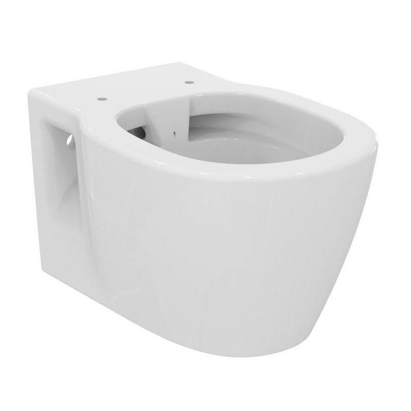 wc suspendu ideal standard connect rimless banio salle de bain badkamers. Black Bedroom Furniture Sets. Home Design Ideas