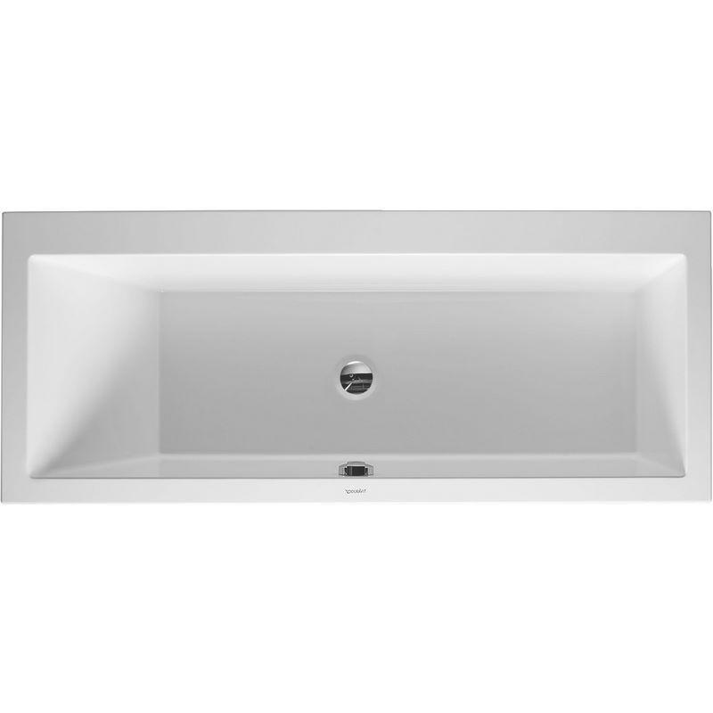 duravit baignoire vero 1700x700mm blanc 1 dossier gauche a. Black Bedroom Furniture Sets. Home Design Ideas