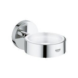 Grohe Essentials, porte-verre, chromé