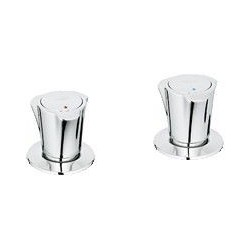 """Grohe Costa L une paire de robinets ½"""" bidet, chromé"""