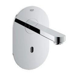 Grohe Euroeco CE Set de finition pour robinetterie à encastrer de lavabo, 230 V, saillie: 170 mm, EcoJoy, chromé