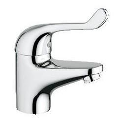 """Grohe Euroeco Securit mitigeur séquentiel ½"""" lavabo, corps lisse, EcoJoy, chromé"""