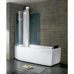 Combiné douche baignoire Alexie 160cm