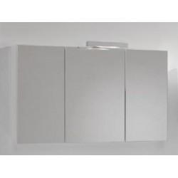 Armoire Miroir 100x60 cm Blanc