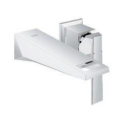 """Grohe Allure Brilliant éléments de finition pour mitigeur monocommande encastré ½"""" pour lavabo, EcoJoy, montage mural, saillie"""