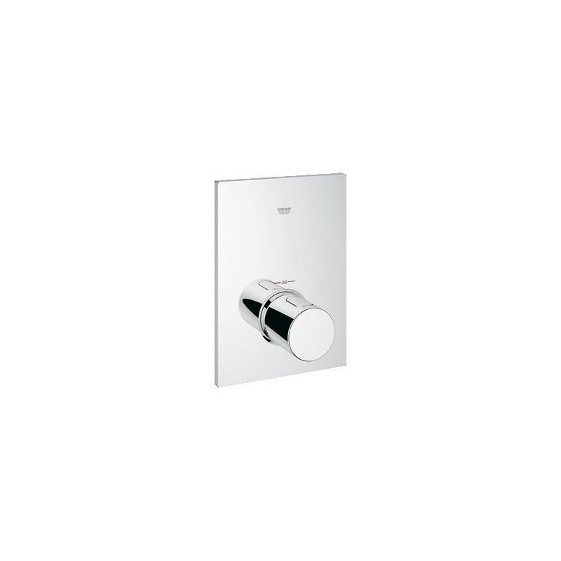 grohe el ment de finition pour l ment d 39 installation universel avec thermostat sans robinet d. Black Bedroom Furniture Sets. Home Design Ideas