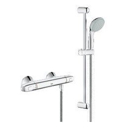 Grohe Grohtherm 1000 New mitigeur thermost. avec douchette