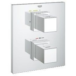 Grohe Grohtherm Cube façade Thermostat douche