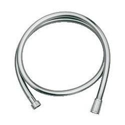 """Grohe Silverflex flexible de douche ½"""" x ½"""", 1250 mm, argent"""