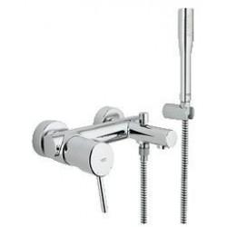 """Grohe Concetto mitigeur monocommande ½"""" pour bain/douche avec set de douche Euphoria Cosmopolitan Stick, chromé"""