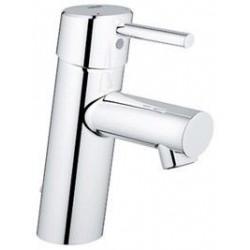 """Grohe Concetto mitigeur monocommande ½"""" pour lavabo, chaînette coulissante, EcoJoy, chromé"""