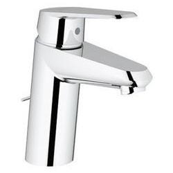 """Grohe Eurodisc Cosmopolitan mitigeur monocommande ½"""" pour lavabo, chaînette coulissante, EcoJoy, chromé"""