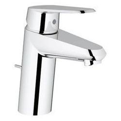 """Grohe Eurodisc Cosmopolitan mitigeur monocommande ½"""" pour lavabo, vidage à tirette, EcoJoy, chromé"""