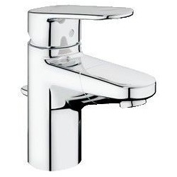 """Grohe Europlus mitigeur monocommande ½"""" pour lavabo avec bec extractible, chromé"""