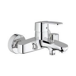 """Grohe Eurostyle Cosmopolitan mitigeur monocommande ½"""" pour bain/douche, réglage de débit à 2 niveaux, EcoJoy, chromé"""