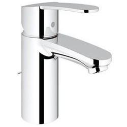 """Grohe Eurostyle Cosmopolitan mitigeur monocommande ½"""" pour lavabo, chaînette coulissante, EcoJoy, chromé"""