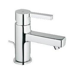 """Grohe Lineare mitigeur monocommande ½"""" pour lavabo, vidage à tirette, petit modèle , chromé"""