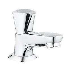 """Grohe Robinet de lave-mains céramique ½"""", chromé"""