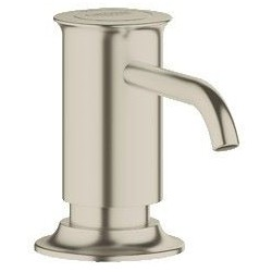 Grohe Distributeur 'Authentic' de savon 0,4 l de savon liquide - Brushed Nickel