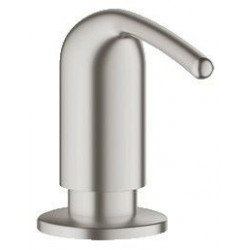 Grohe Distributeur 'Zedra' de savon 0,4 l de savon liquide - Supersteel