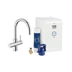 Grohe Blue Chilled ééngreep keuk C-uitl