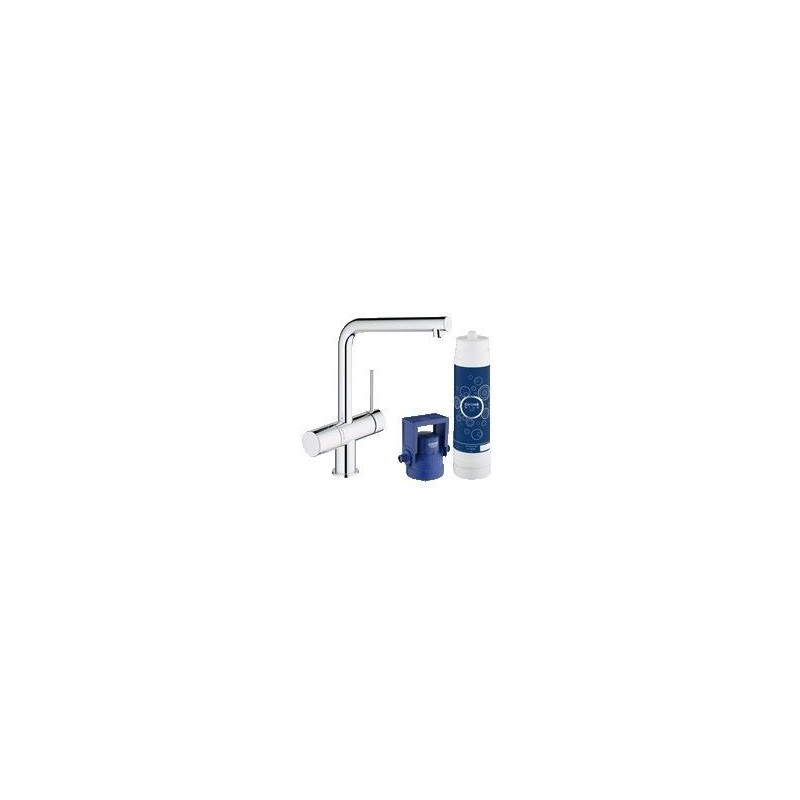 grohe blue minta new pure vier l bec 31345002. Black Bedroom Furniture Sets. Home Design Ideas