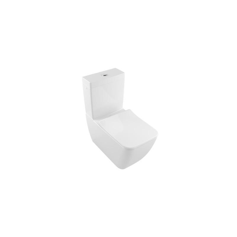 villeroy boch venticello cuvette pour ensemble wc fond creux sans bride blanc 4612r001. Black Bedroom Furniture Sets. Home Design Ideas