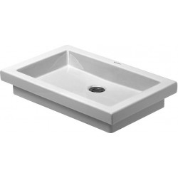 DURAVIT 2nd floor Vasque  580 2ND FLOOR  BLANC      WONDERGLISS