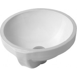 DURAVIT Architec Vasque   32 ARCHITEC   BLANC A ENCASTRER/DESSOUS