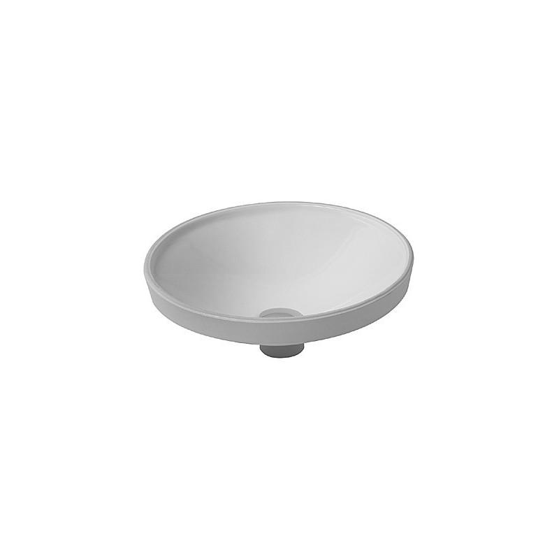 duravit architec vasque 37 architec blanc a encastrer dessous 0319370000. Black Bedroom Furniture Sets. Home Design Ideas