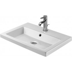 DURAVIT 2nd floor Vasque   60 2ND FLOOR  3TR   BLANC      WONDERGLISS