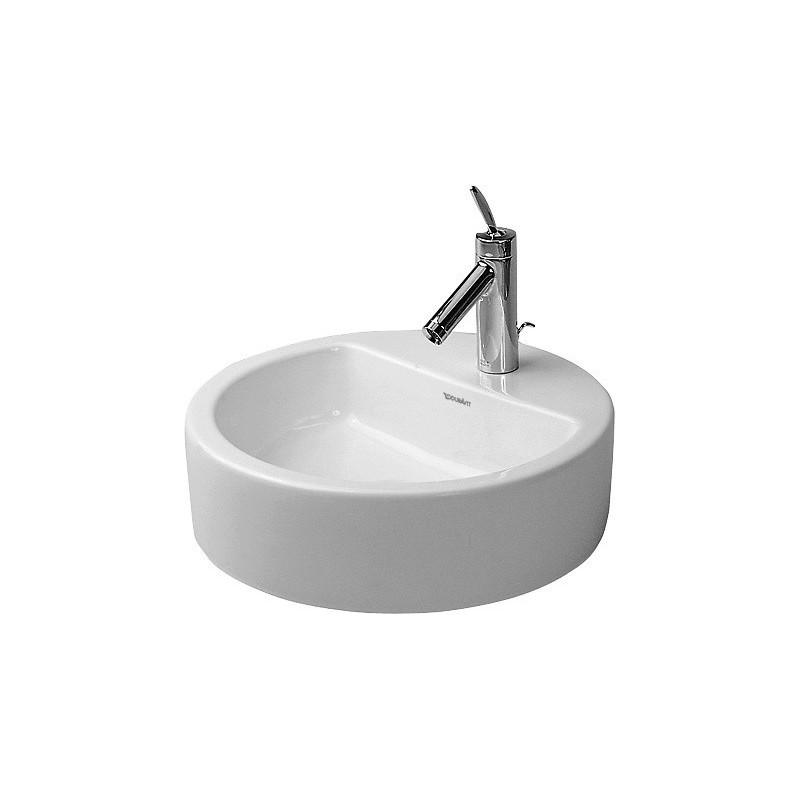 duravit starck 1 vasque 48 starck edition 1 blanc 0446480000. Black Bedroom Furniture Sets. Home Design Ideas