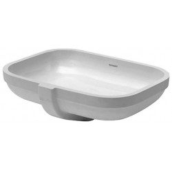 DURAVIT Happy D.2 Vasque   54 HAPPY D.2  BLANC       WONDERGLISS