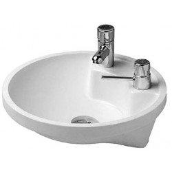DURAVIT Architec VASQUE ARCHITEC+PLAGE ROB.BLANC TR.DISTR.SAVON PREPERCE D  WGL