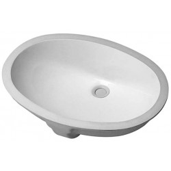 DURAVIT Vanity basins VASQUE 51 SANTOSA   BLANC