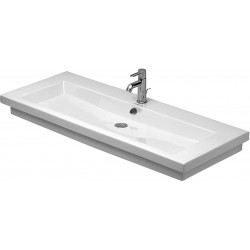 DURAVIT 2nd floor Lavabo 1200 2ND FLOOR  BLANC MEULE 3TR     WONDERGLISS