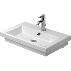 DURAVIT 2nd floor Lavabo 600 2ND FLOOR 3TR  BLANC      WONDERGLISS