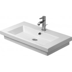 DURAVIT 2nd floor Lavabo 700 2ND FLOOR   BLANC SANS TROU     WONDERGLISS