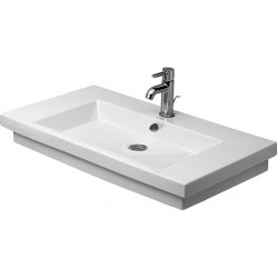 DURAVIT 2nd floor Lavabo 800 2ND FLOOR   BLANC MEULE      WONDERGLISS