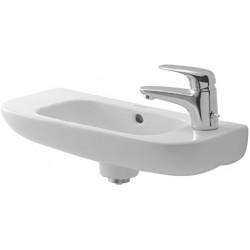 DURAVIT D-Code Lave-mains  50  D-CODE    BLANC TROU PERCE A DROITE