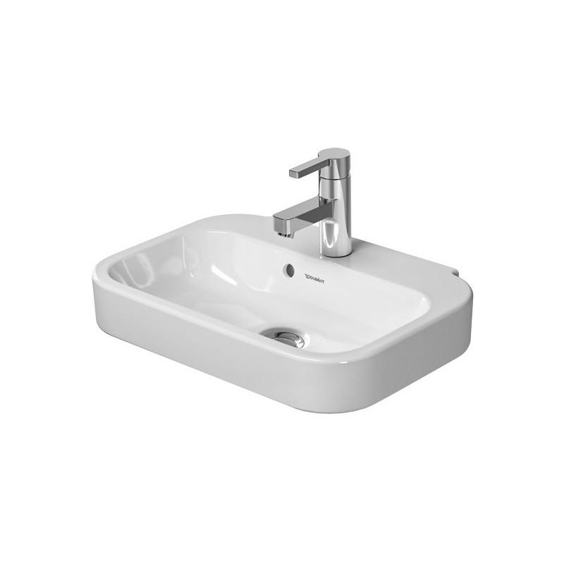 Duravit Happy D.2 Lave-Mains 50 cm avec trop plein - Blanc   Banio
