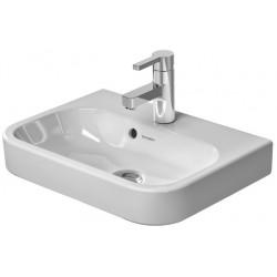 DURAVIT Happy D.2 Lave-mains p.MEUBLE 500mm Happy D.2 blanc av. TP, av. PdR, sans TR