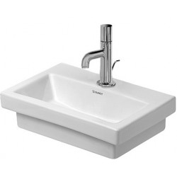 DURAVIT 2nd floor LAVE-MAINS 400mm 2nd floor BLANC ss TP, av.PdR, 1 TR, MEULE, WGL